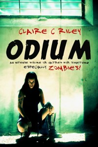 self-published horror novel odium claire riley