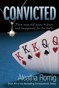 Convicted Aleatha Romig self-published thriller novel