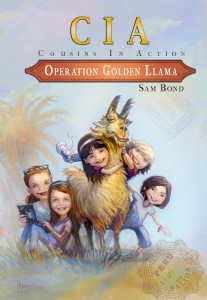 operation golden llama sam bond fiction CIA